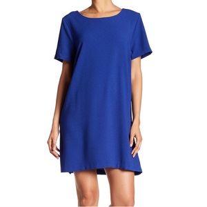 Bobeau Royal Blue Shift dress